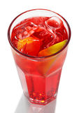Red Energy Alcoholic Cocktail Stock Photography