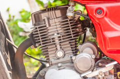 Red engine Royalty Free Stock Photo