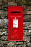 Red English letterbox Stock Images