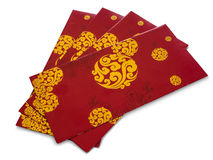 Red Envelop. With golden pattern using for Chinese New Year Royalty Free Stock Image