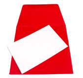 Red envelope Royalty Free Stock Image
