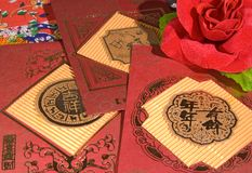 Red envelope Royalty Free Stock Photography