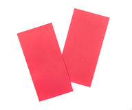 Red envelope. Royalty Free Stock Images