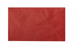 Red envelope back Royalty Free Stock Image