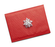 Red Envelope WIth Bow Stock Photos