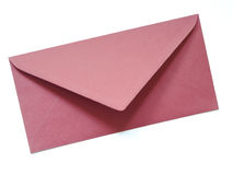 A red envelope isolated Royalty Free Stock Image