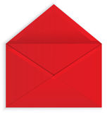 Red envelope open vector Stock Photos