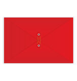 Red envelope rope seal vector Royalty Free Stock Photo
