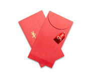 Red envelopes for Chinese New Year Royalty Free Stock Image