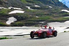 A red Ermini 1100 Sport Siluro Stock Image