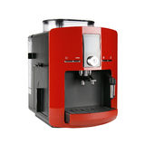 Red espresso machine Royalty Free Stock Photos