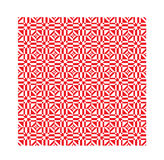 Red ethnic modern geometric seamless pattern ornament Royalty Free Stock Photo