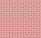 Red Ethnic ornament. Moroccan decoration. The patchwork or quilt. Graphic background. Royalty Free Stock Image