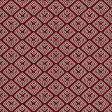 Red ethnic russian seamless pattern Royalty Free Stock Image