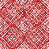Red ethnic russian seamless pattern Royalty Free Stock Photography
