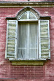 red europe  italy  lombardy       in  the milano old   window cl Stock Image