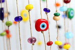 Red evil eye Royalty Free Stock Photo