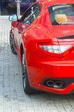Red expensive sports car Royalty Free Stock Photos