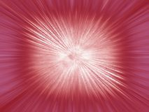 Red explosion Stock Photography
