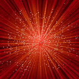 Red explosion Royalty Free Stock Photography