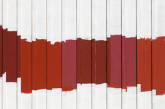 Red Exterior Paint Samples Royalty Free Stock Photos