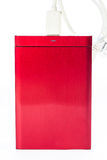 Red external hard drive Stock Photo