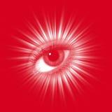 Red eye Royalty Free Stock Photo