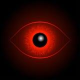 Red Eye-Bal Stock Fotografie