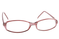 Red eyeglasses Royalty Free Stock Images