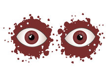 Red eyes Royalty Free Stock Photo
