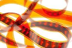 red för 2 film fotografering för bildbyråer