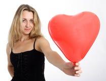 red för 3 hjärta arkivfoton