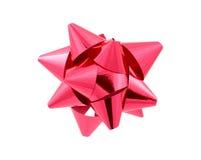 red för bowclippingbana Arkivfoto