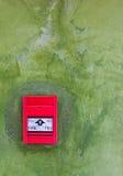 red för brand alarm1 Arkivfoton