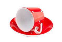 red för kaffekopp Royaltyfria Foton