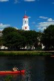 red för kupoldunsterhus Royaltyfria Foton