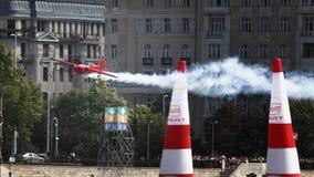 red för lufttjurrace royaltyfri bild