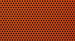red för metall för bakgrund raster spela golfboll i hål perforerad Arkivfoton