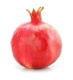 red för pomegranate för matfrukt sund isolerad Royaltyfri Foto