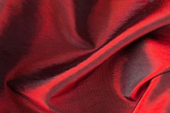 Red fabric Stock Photos