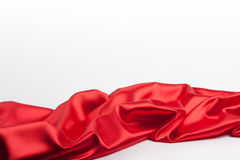 Red fabric 2 Stock Image