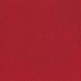 Red fabric. Coarse red cloth for embroidery and draping Stock Photo