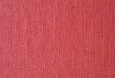 Red fabric. Canvas background texture Royalty Free Stock Photography