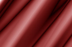 Red Fabric Abstract. Red Fabric Curtain With Waves, Abstract, Background Stock Photography