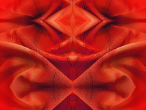 Red  fabric  abstract Stock Photos