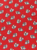 Red fabric abstract Royalty Free Stock Image