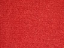 Red fabric background Royalty Free Stock Photography