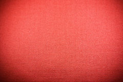 Red fabric background closeup Royalty Free Stock Photo