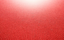 Red fabric background Royalty Free Stock Image