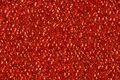 Red fabric background Stock Photography